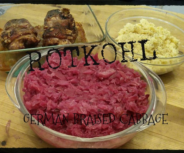 Rotkohl, Braised Red Cabbage