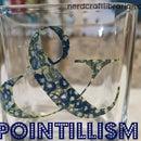 Pointillism Vase