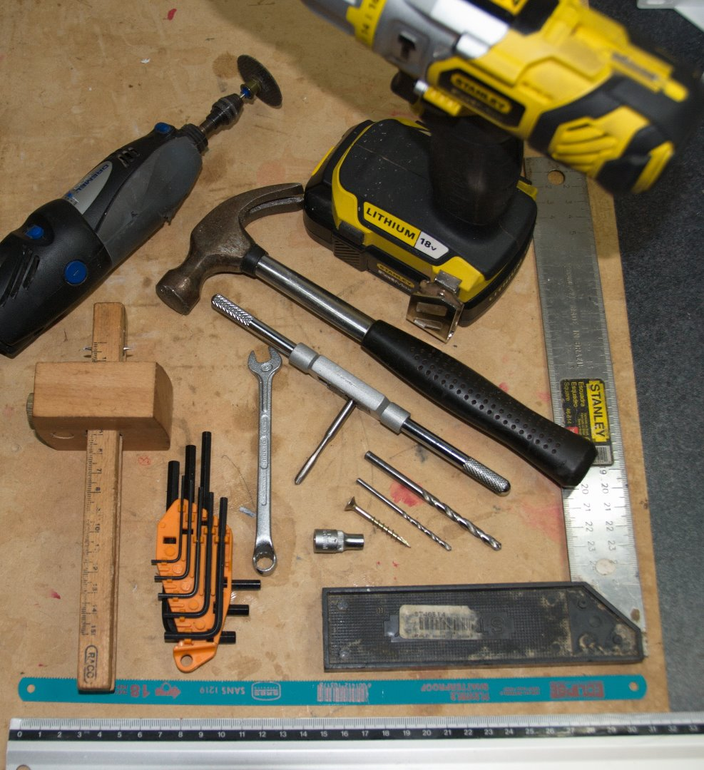 Picture of Print Bed: Materials & Tools