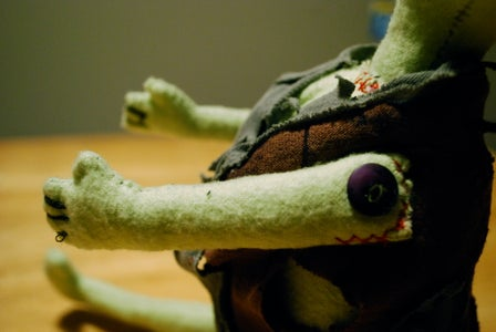 Exploding Chest Zombie Plushie