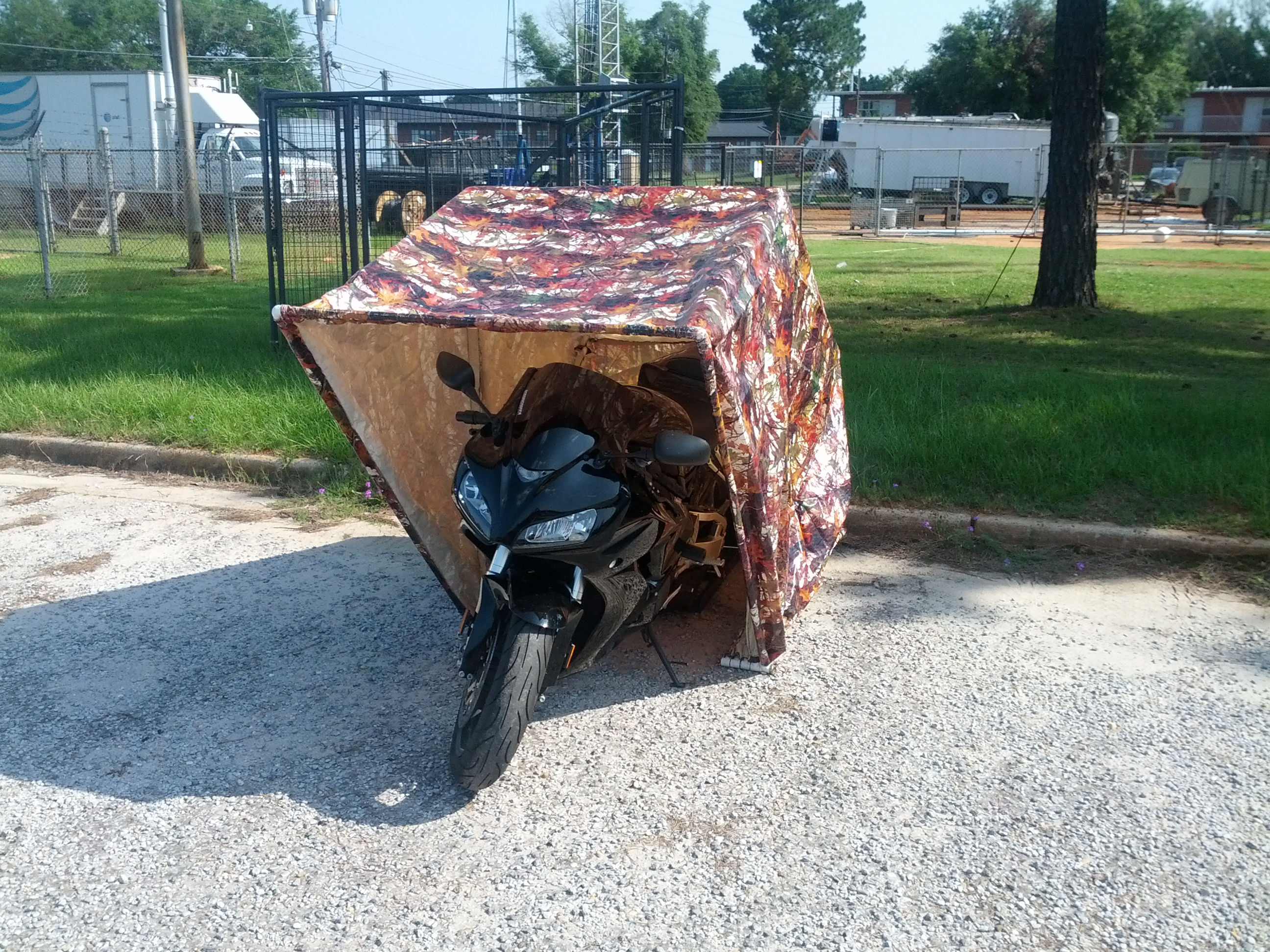 Picture of Motorcycle Shell DIY Garage