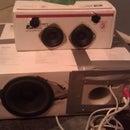 Cardboard Box Speaker System ($0-15)