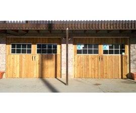 "Homemade ""Carriage House"" Garage Doors"