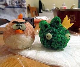 Angry Rice Balls