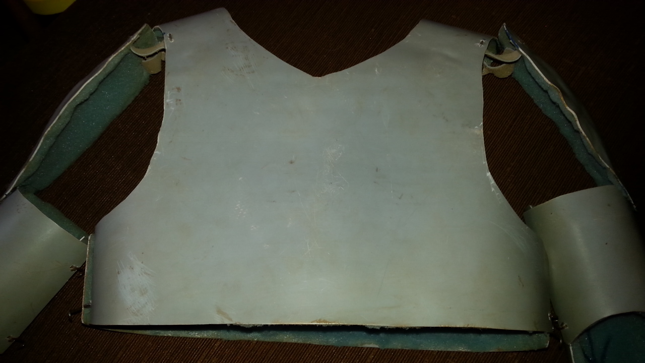 Picture of Breastplate and Backplate