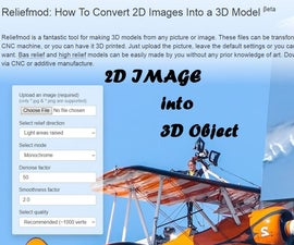 How to Convert 2D Images Into 3D Objects