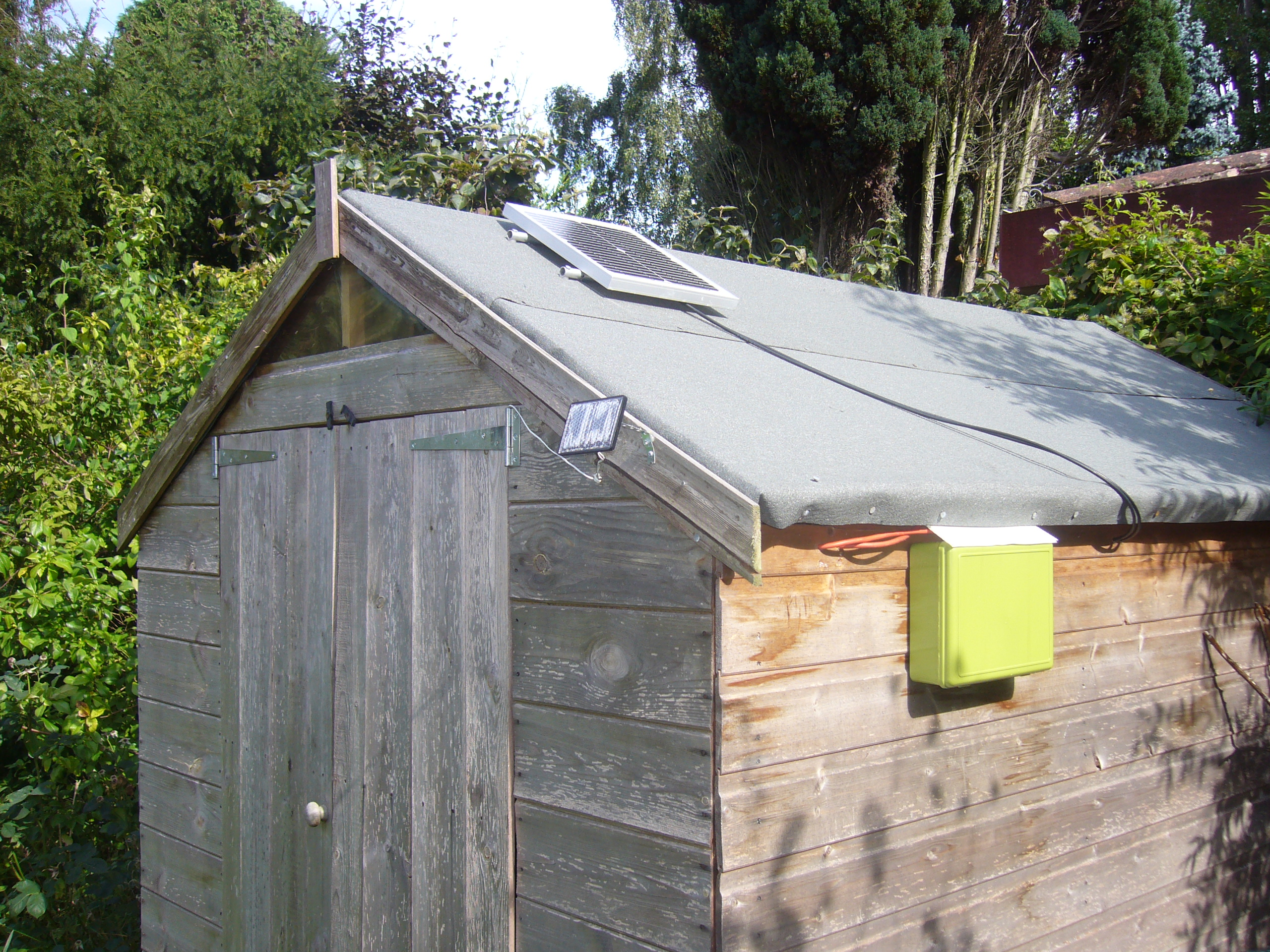Picture of Run Your Shed Off Grid!