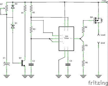 The Schematic and Parts List I Used