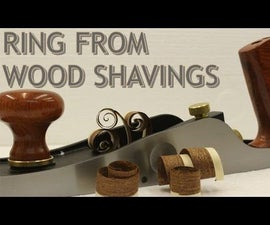 Can You Make a Ring Out Of Wood Shavings?