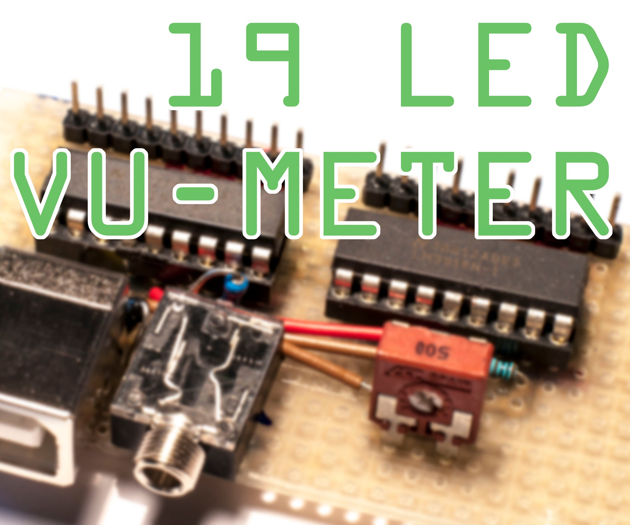 Simple 20 Led Vu Meter Datasheet Guide 6 Steps Lm3915 Circuit