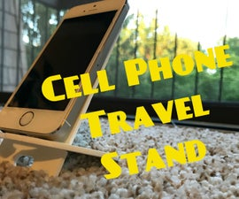 3D Portable and Packable Phone Stand