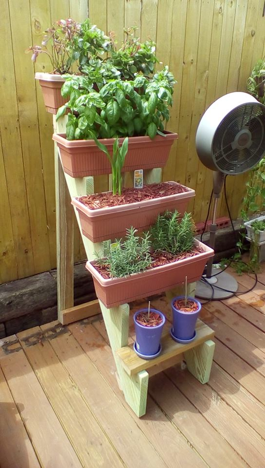 Picture of Window Box Planter Stairs