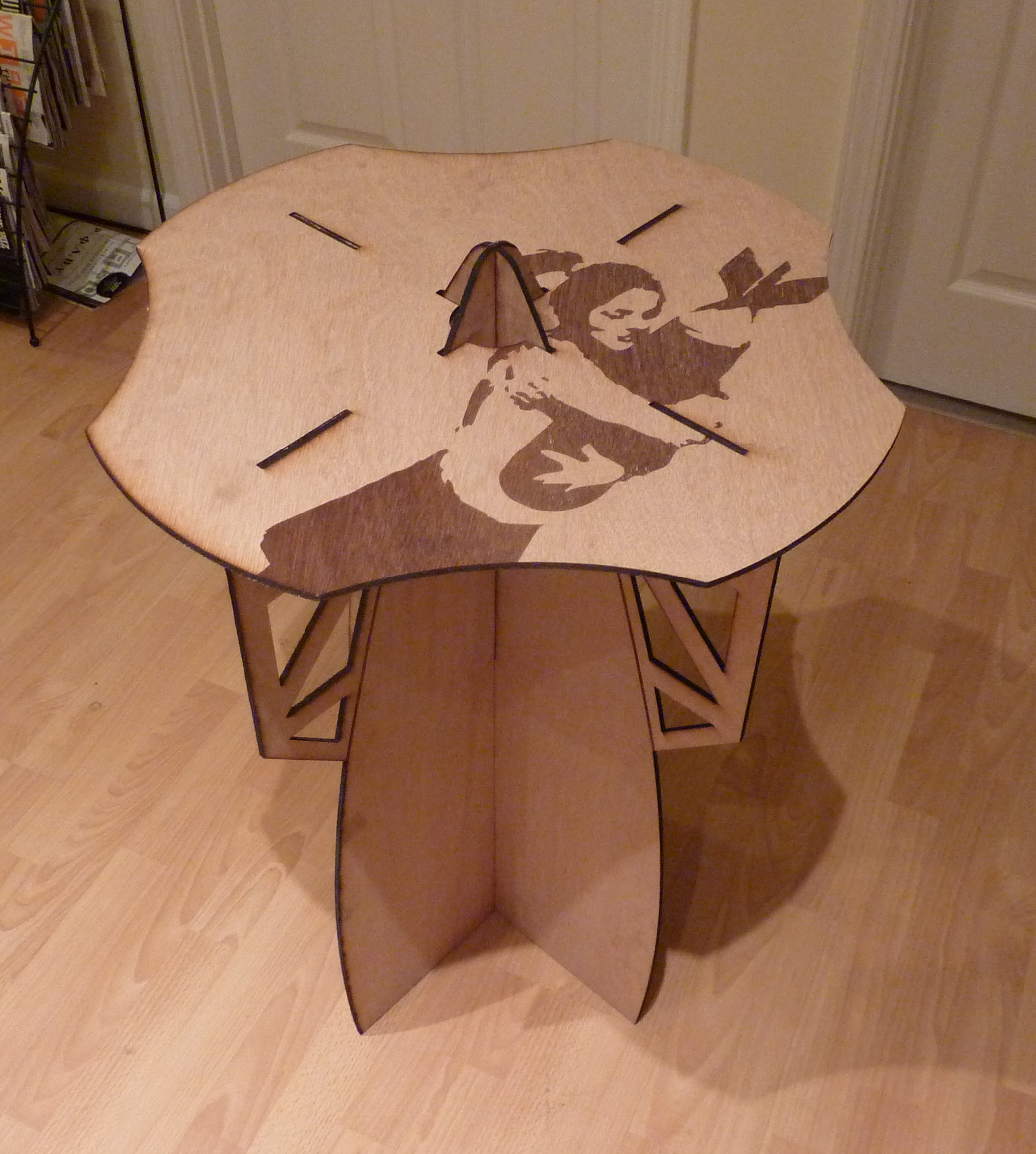 Picture of Laser Cut Table