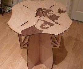 Laser Cut Table