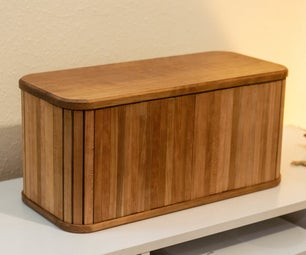 Breadbin With Tambour