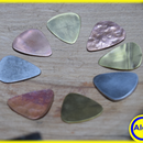 How to Make Guitar Picks From Reclaimed Metals