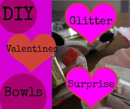 DIY Valentine's Button Bowl
