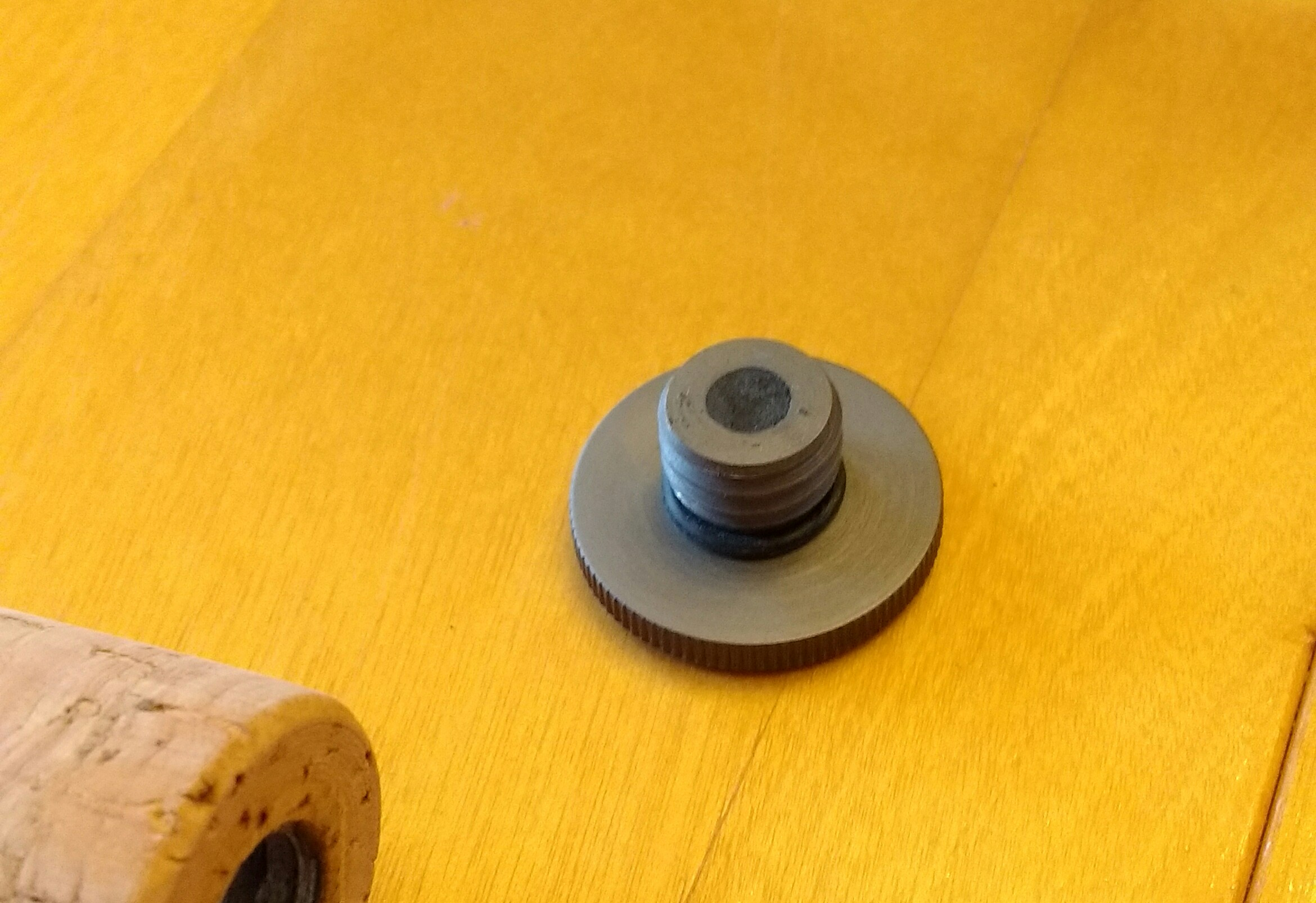 Picture of Drilling the Butt Cap