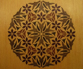 Laser Marquetry From a Digital Wood Kit
