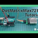 """How to Use Max7219 8x8 Dot Matrix With """"skiiiD"""""""