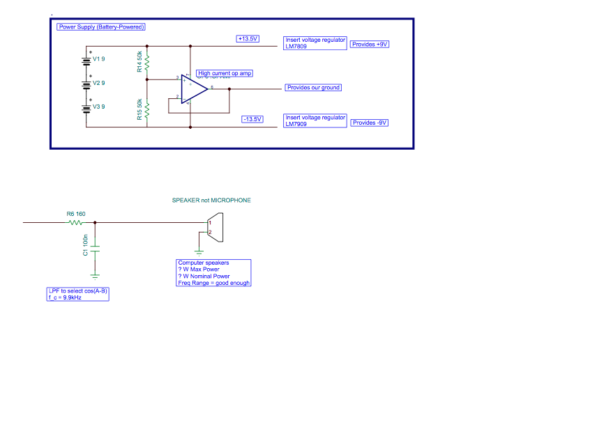 Picture of Full Schematic