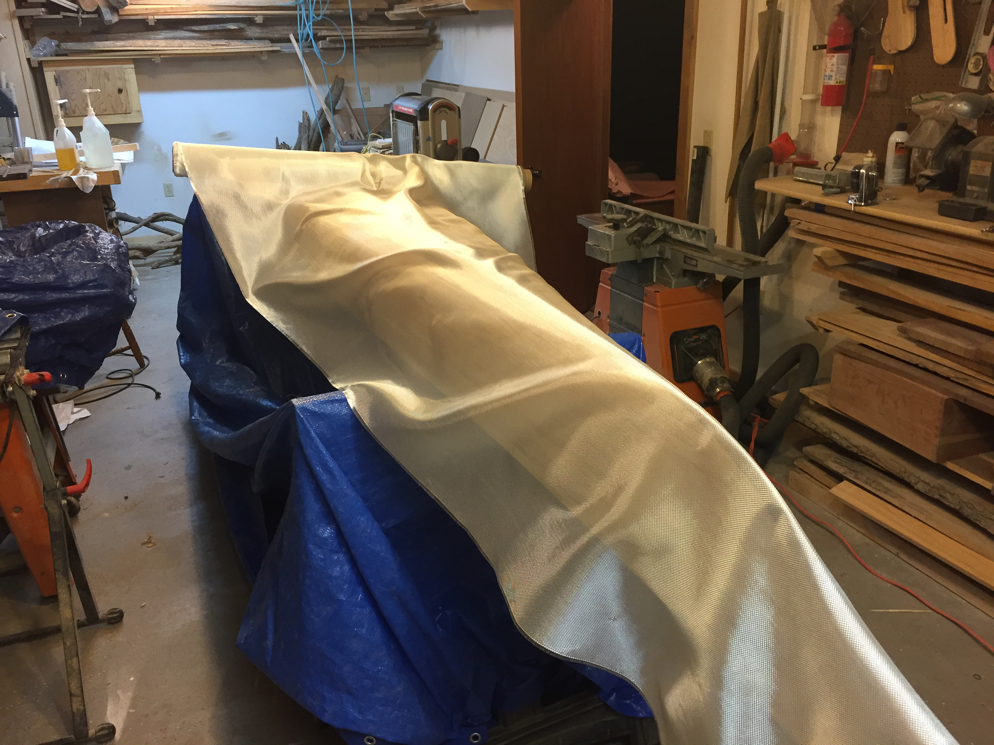 Picture of Fiberglass the Hull