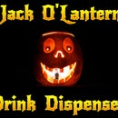 Jack O'Lantern Drink Dispenser