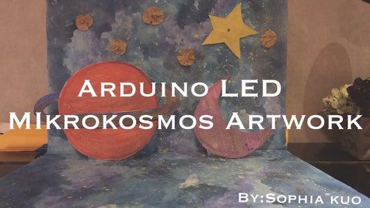 9A Arduino LED Mikrokosmos Artwork