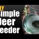DIY Deer Feeder
