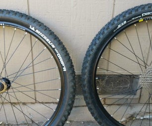 Tubeless Bike Tire Conversion