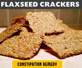 QUICK & EASY FLAXSEED CRACKERS
