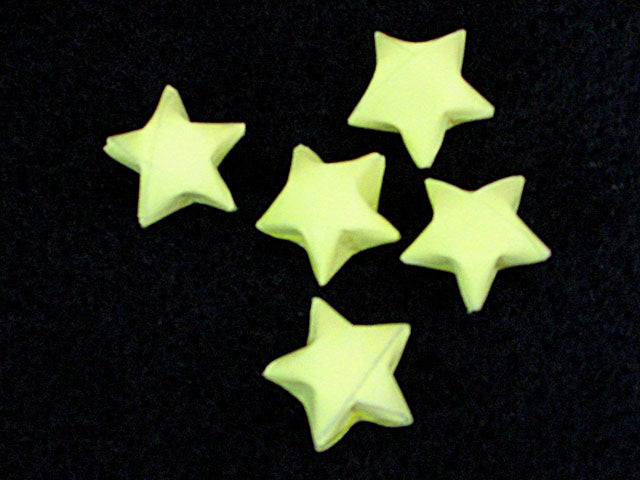 How To Make Lucky Paper Stars 5 Steps With Pictures Instructables