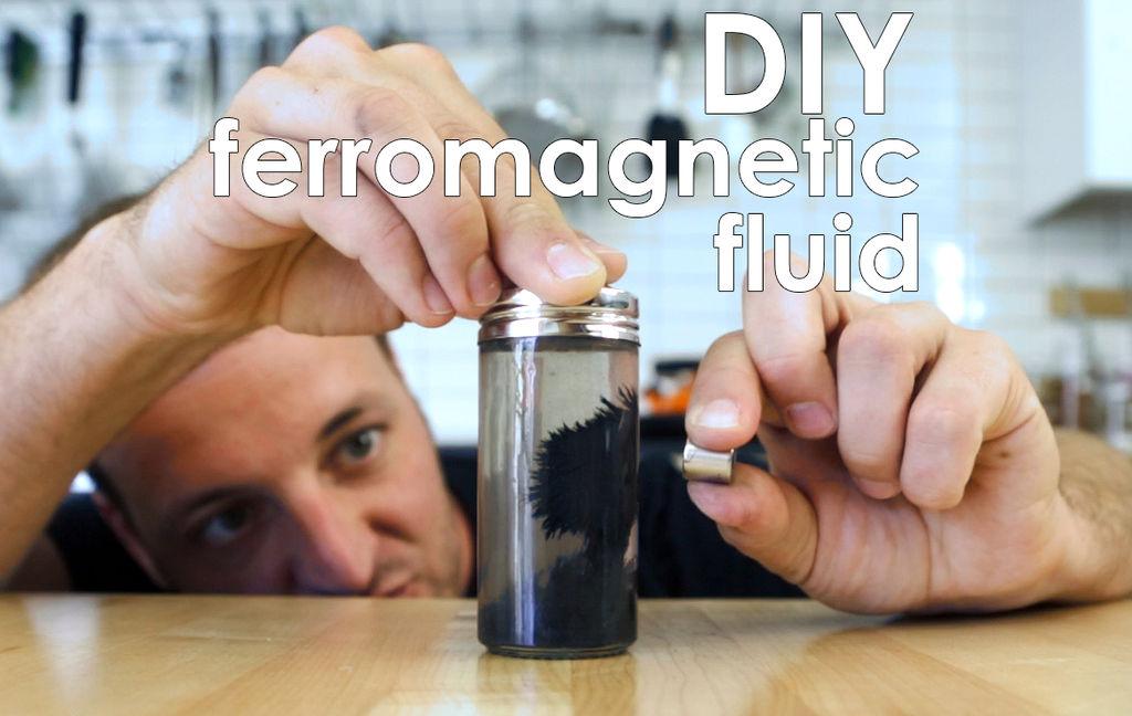 Picture of Ferromagnetic Fluid
