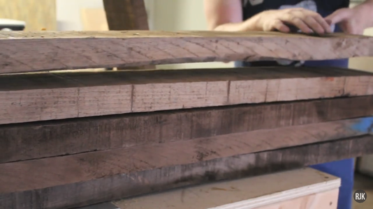 Milling the Rough Lumber (2/6)