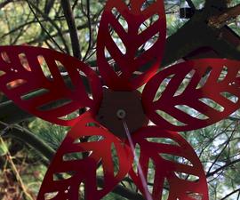 Mechanical Flower (using Arduino)