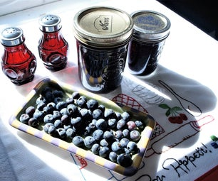 Creative Pickled  Blueberry Recipe for Foodies