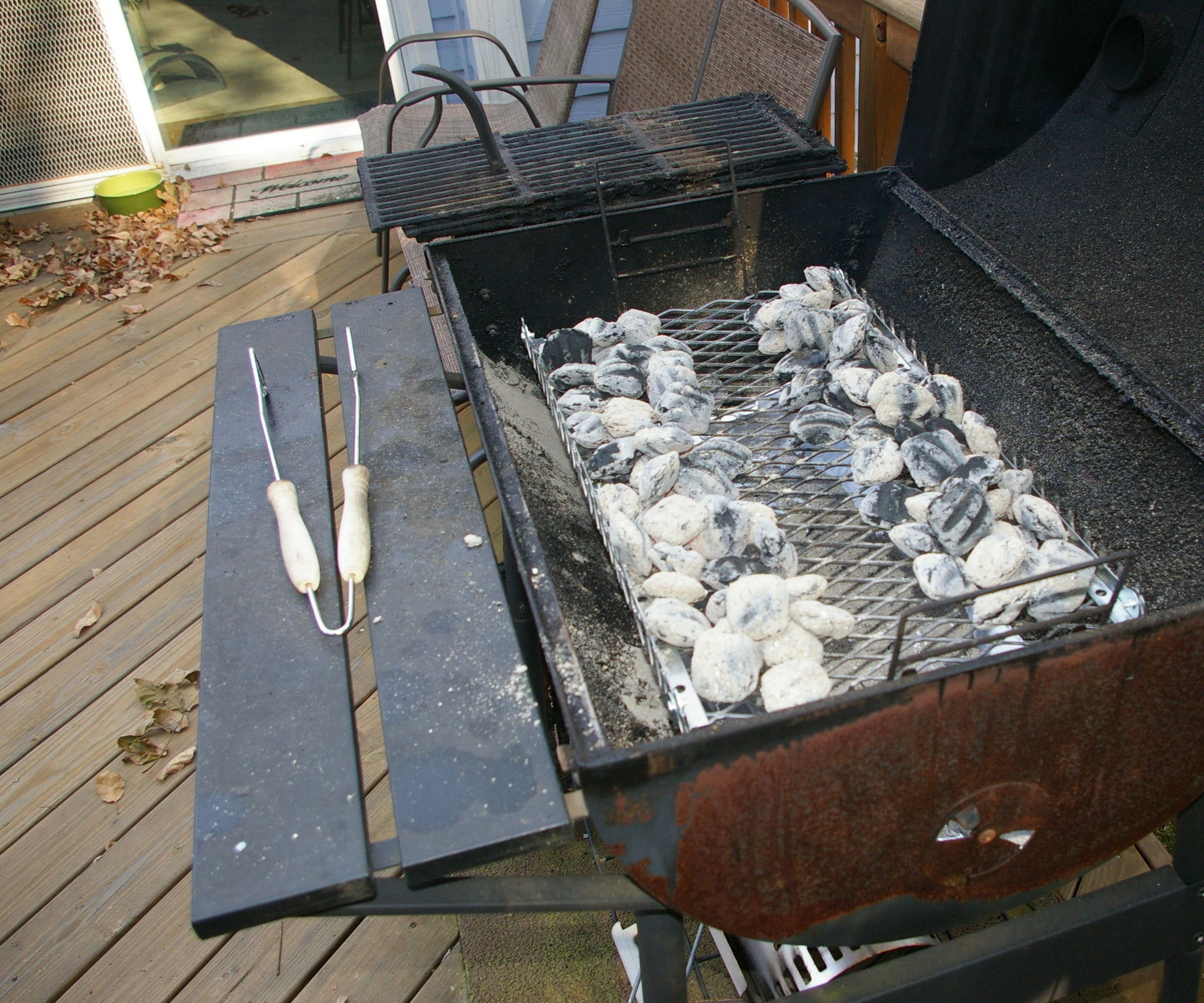 Replacement Charcoal Tray Or Pan For A Charcoal Grill: 6