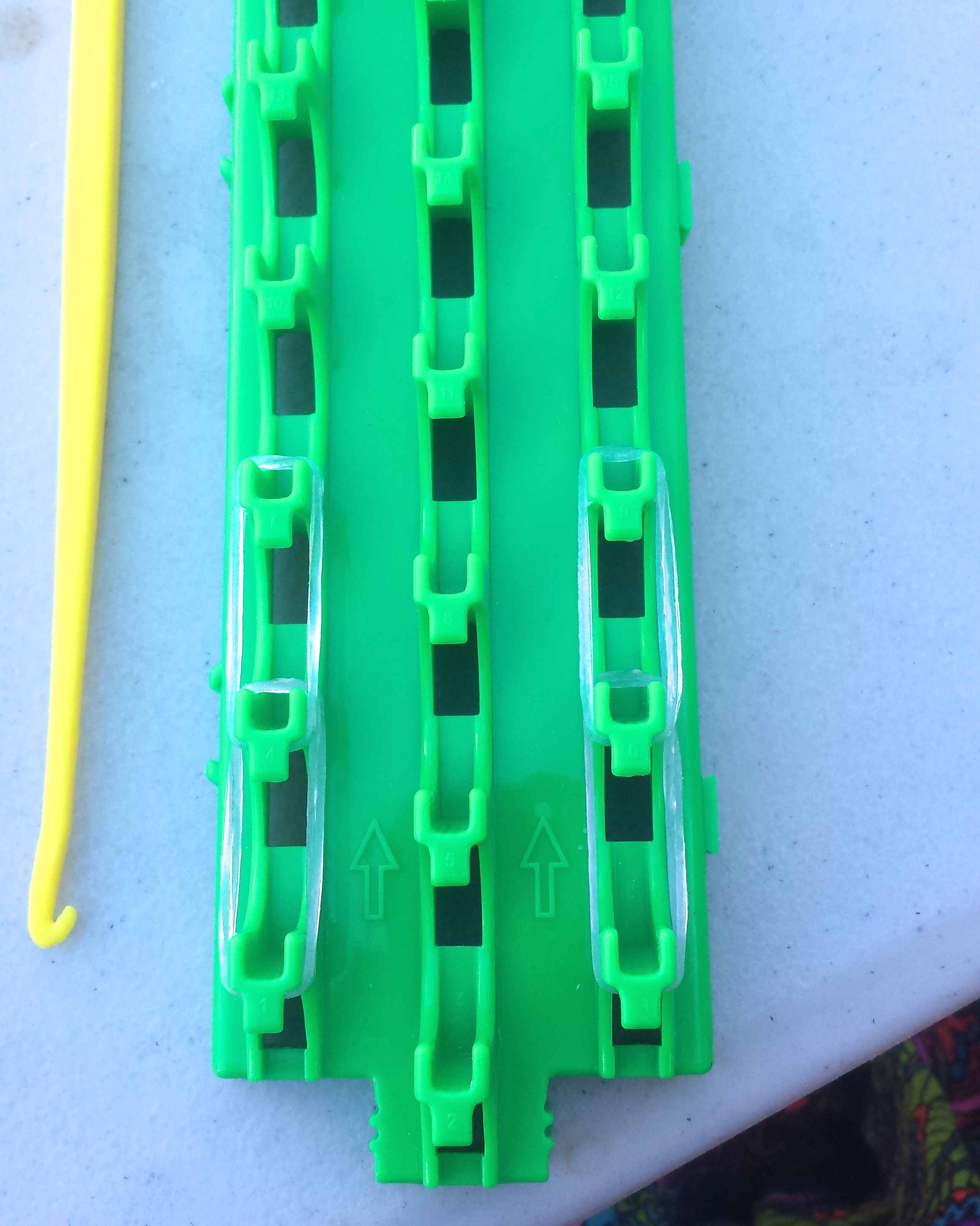 Picture of Put the Bands on the Loom