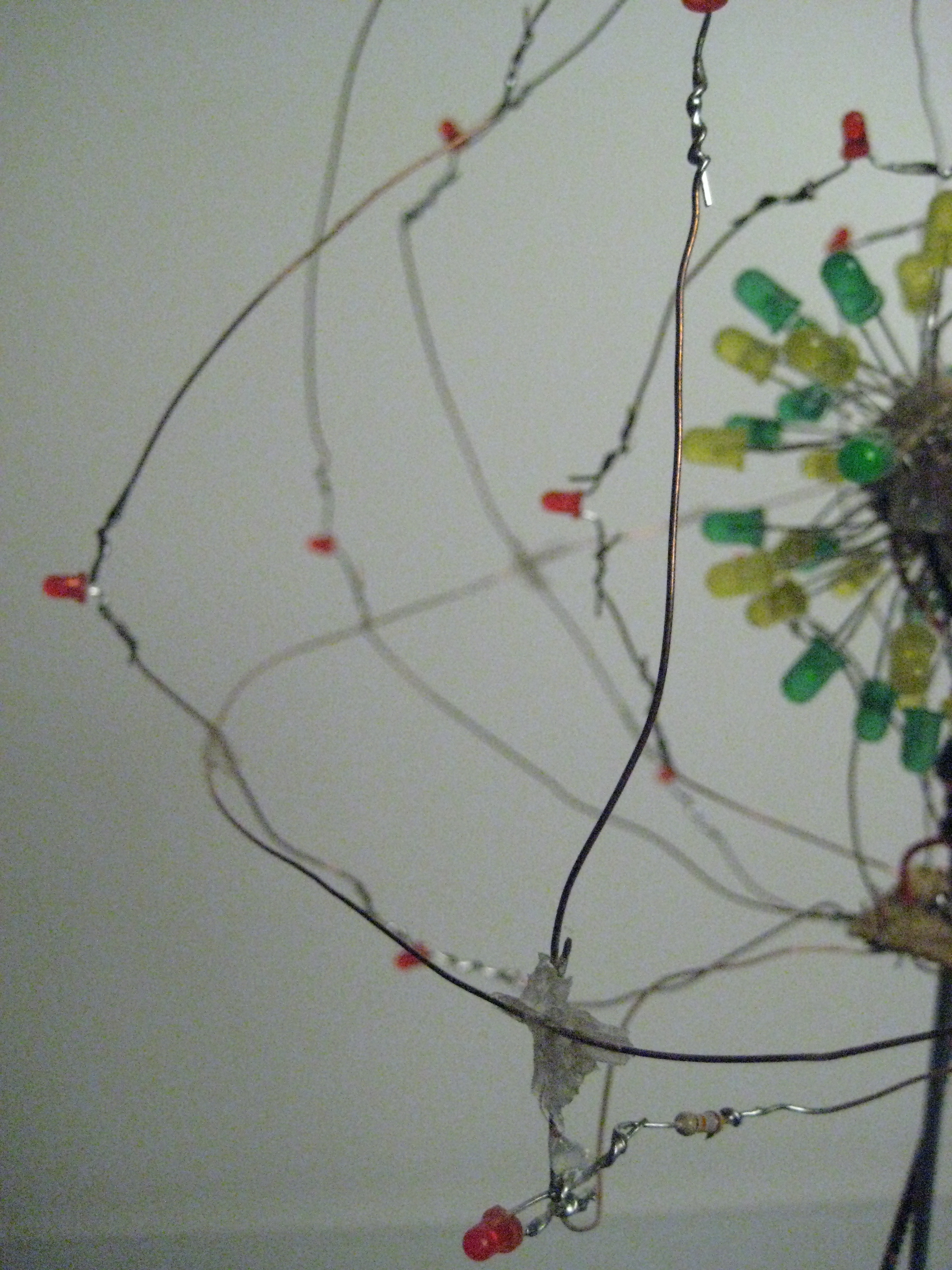 Picture of LED Atom Model
