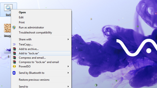 Now Select a File to Hide Behind the Image and Make It in .RAR Format. With the Help of the WinRAR.