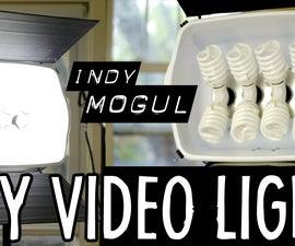 DIY video light (800-watt-equivalent for $86)