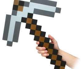 Minecraft Pickaxe and Sword