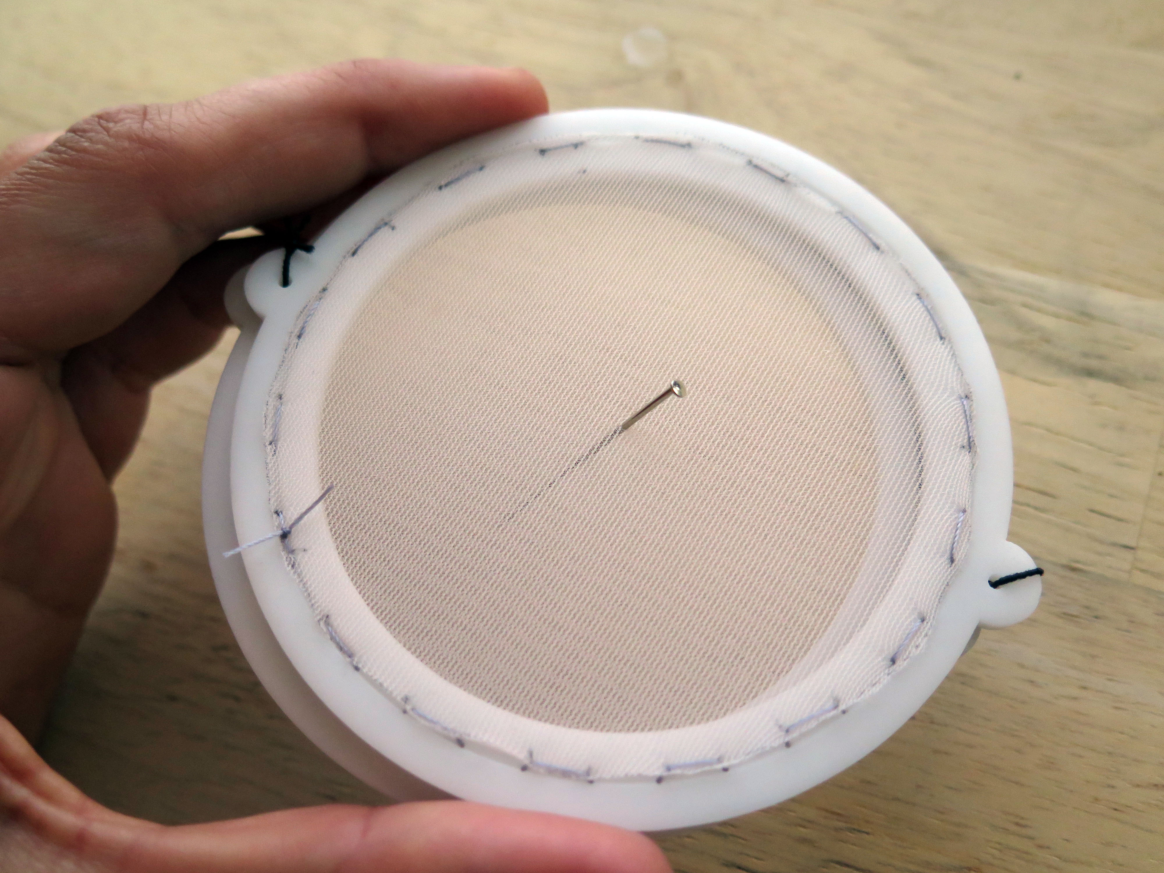 Picture of Poke Needles Through Layers