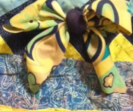 Old Swimsuit Bow
