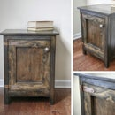 Side Table With Door