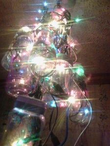 Christmas Tree Chandelier