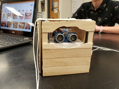 Space Jam Cubesat: the Cube Shack- Arduino and Ultrasonic Sensor