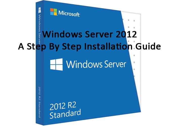 Picture of Windows Server 2012 - a Step by Step Installation Guide
