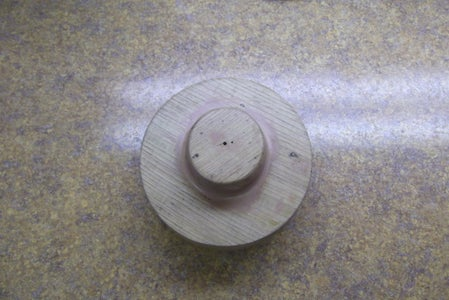 Casting Four Wheels & One Axle Wheel Hub