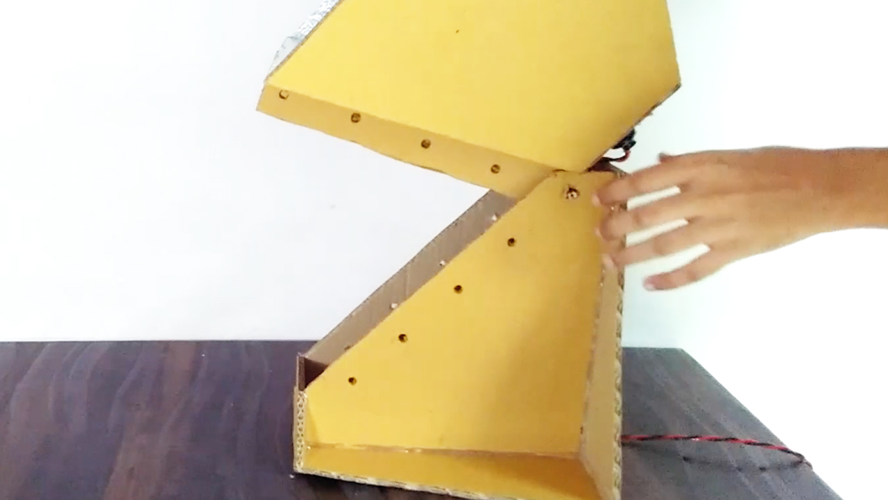 Picture of Align the Holes and Put the Pencil Pieces Inside It ( Refer Video )
